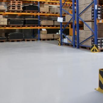 dmd Antirutsch-Epoxidbodenbeschichtung Standard hellgrau 5kg
