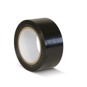 Bodenmarkierungsklebeband Standard schwarz 50mm x 33m