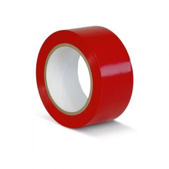 Bodenmarkierungsklebeband Standard rot 50mm x 33m