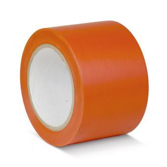 Bodenmarkierungsklebeband Standard orange 75mm x 33m
