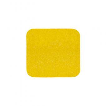 m2-Antirutschbelag Universal gelb Einzelstreifen 140x140mm, 10er VE