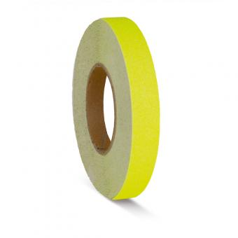 m2-Antirutschbelag Signalfarbe gelb Rolle 25mm x 18,3m