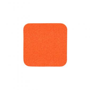 m2-Antirutschbelag Signalfarbe orange Einzelstreifen 140x140mm, 10er VE