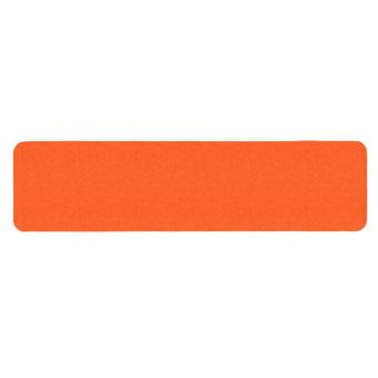 m2-Antirutschbelag Signalfarbe orange Einzelstreifen 150x610mm, 10er VE