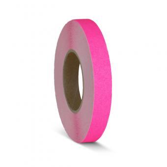 m2-Antirutschbelag Signalfarbe pink Rolle 25mm x 18,3m