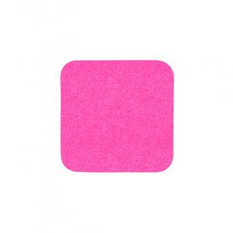 m2-Antirutschbelag Signalfarbe pink Einzelstreifen 140x140mm, 10er VE