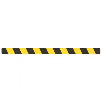 m2-Antirutschbelag Warnmarkierung schwarz/gelb Einzelstreifen 50x800mm, 10er VE