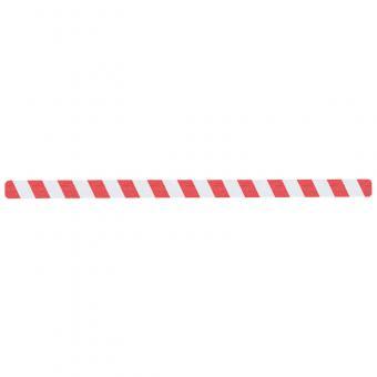 m2-Antirutschbelag Warnmarkierung rot/weiß Einzelstreifen 50x1000mm, 10er VE