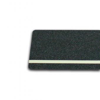 m2-Antirutschbelag Multifunktionsbelag schwarz Streifen nachleuchtend 150x610mm