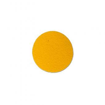m2-Antirutschbelag Hinweismarkierung Universal gelb Kreis 70mm, 50er VE