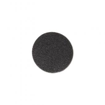 m2-Antirutschbelag Hinweismarkierung Verformbar schwarz Kreis 90mm, 50er VE