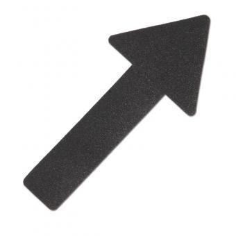 m2-Antirutschbelag Hinweismarkierung Verformbar schwarz Pfeil 130x280mm, 10er VE