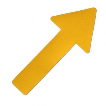 m2-Antirutschbelag Hinweismarkierung Verformbar gelb Pfeil 130x280mm, 10er VE