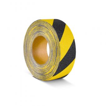 m2-Antirutschbelag Verformbar schwarz/gelb Rolle 50mm x 18,3m