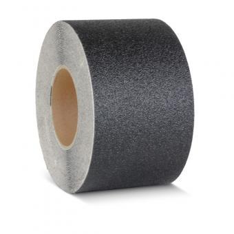 m2-Antirutschbelag Extra Stark Verformbar schwarz Rolle 100mm x 18,3m