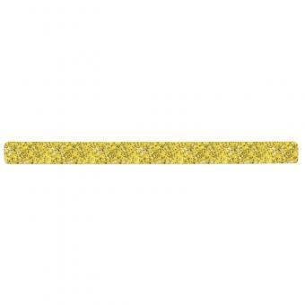 m2-Antirutschbelag Public 46 gelb Einzelstreifen 50x650mm, 10er VE