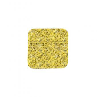 m2-Antirutschbelag Public 46 gelb Einzelstreifen 140x140mm, 10er VE