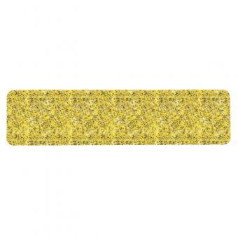 m2-Antirutschbelag Public 46 gelb Einzelstreifen 150x610mm, 10er VE