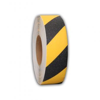 Antirutschbelag Basic schwarz/gelb Rolle 25mm x 18,3m