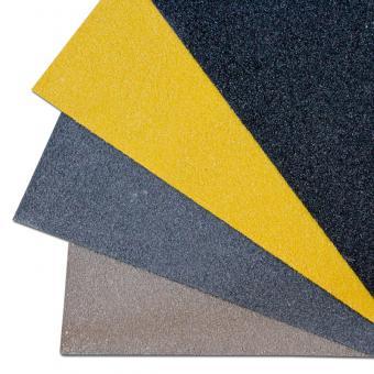 Antirutschplatte GFK Medium gelb 750x1000mm