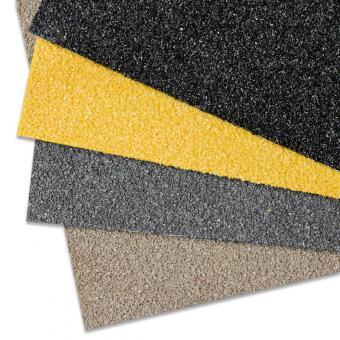 Antirutschplatte GFK Extra Stark gelb 750x1000mm