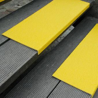 Antirutschkantenprofil GFK Extra Stark gelb 230x800x30mm