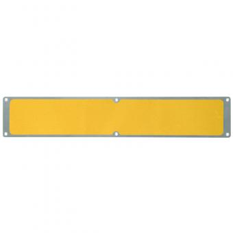 Antirutschplatte Aluminium Universal gelb 114x1000mm