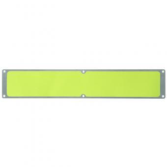 Antirutschplatte Aluminium Signalfarbe gelb 114x635mm