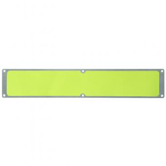 Antirutschplatte Aluminium Signalfarbe gelb 114x1000mm