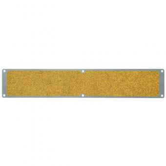 Antirutschplatte Aluminium Public 46 gelb 114x1000mm