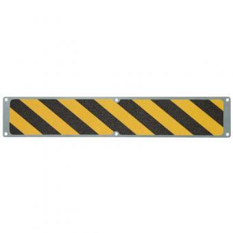 Antirutschplatte Aluminium Easy Clean schwarz/gelb 114x1000mm