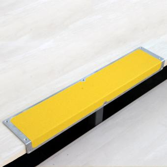 Antirutschkantenprofil Aluminium Universal gelb 120x635x45mm