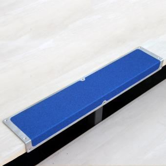 Antirutschkantenprofil Aluminium Universal blau 120x635x45mm