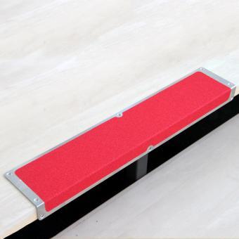 Antirutschkantenprofil Aluminium Universal rot 120x635x45mm