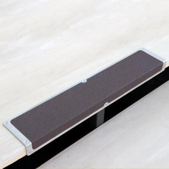 Antirutschkantenprofil Aluminium Universal braun 120x635x45mm