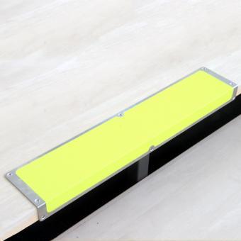 Antirutschkantenprofil Aluminium Signalfarbe gelb 120x635x45mm
