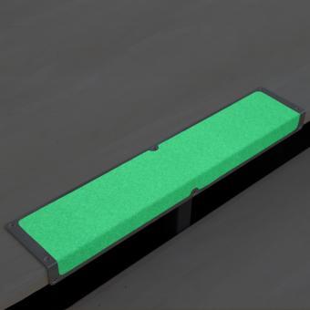 Antirutschkantenprofil Aluminium Nachleuchtend 120x1000x45mm