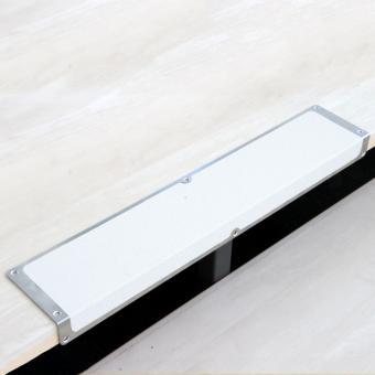 Antirutschkantenprofil Aluminium Easy Clean weiß 120x1000x45mm