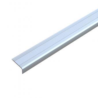 Antirutschtreppenkantenprofil Aluminium Easy Clean, schraubbar weiß 53x610x31mm