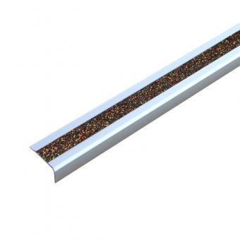Antirutschtreppenkantenprofil Aluminium GlitterGrip, selbstklebend 53x610x31mm gold