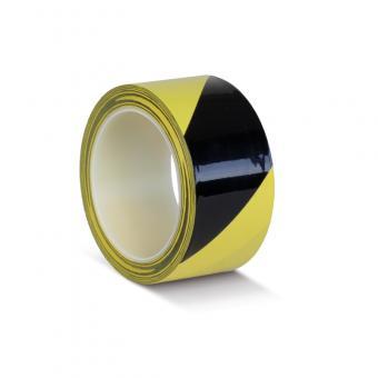Bodenmarkierungsklebeband Schutzlaminiert schwarz/gelb 50mm x 33m