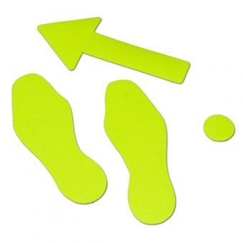 m2-Antirutschbelag Hinweismarkierung Signalfarbe