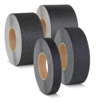 m2-Antirutschbelag Extra Stark Verformbar schwarz Rolle