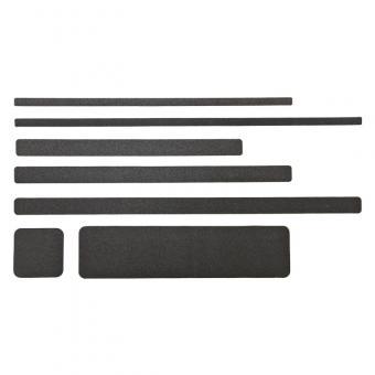 m2-Antirutschbelag Extra Stark Verformbar schwarz Einzelstreifen