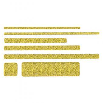 m2-Antirutschbelag Public 46 gelb Einzelstreifen