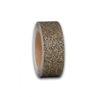 m2-Antirutschbelag GlitterGrip gold Einzelstreifen 50x800mm, 10er VE