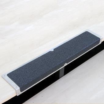 Antirutschkantenprofil Aluminium Extra Stark schwarz
