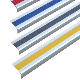 Antirutschtreppenkantenprofil Aluminium Universal, schraubbar