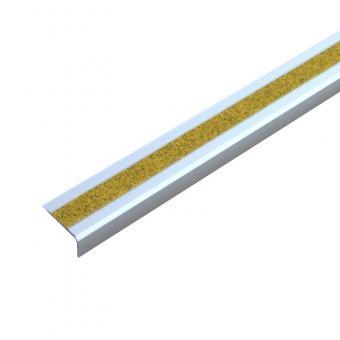 Antirutschtreppenkantenprofil Aluminium Public 46 gelb, schraubbar