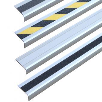 Antirutschtreppenkantenprofil Aluminium Easy Clean, schraubbar